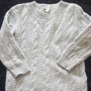 J Crew 100% Cashmere Italian Sweater Sz S